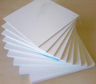 Фторопласт листовой - 1000x1000x55 мм