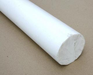 Фторопластовый стержень - 90 мм купить фторопласт